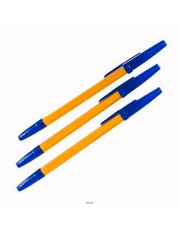 Набор ручек шариковых ORANGE синяя, 1,0 мм, 3 шт. (арт. 80087)