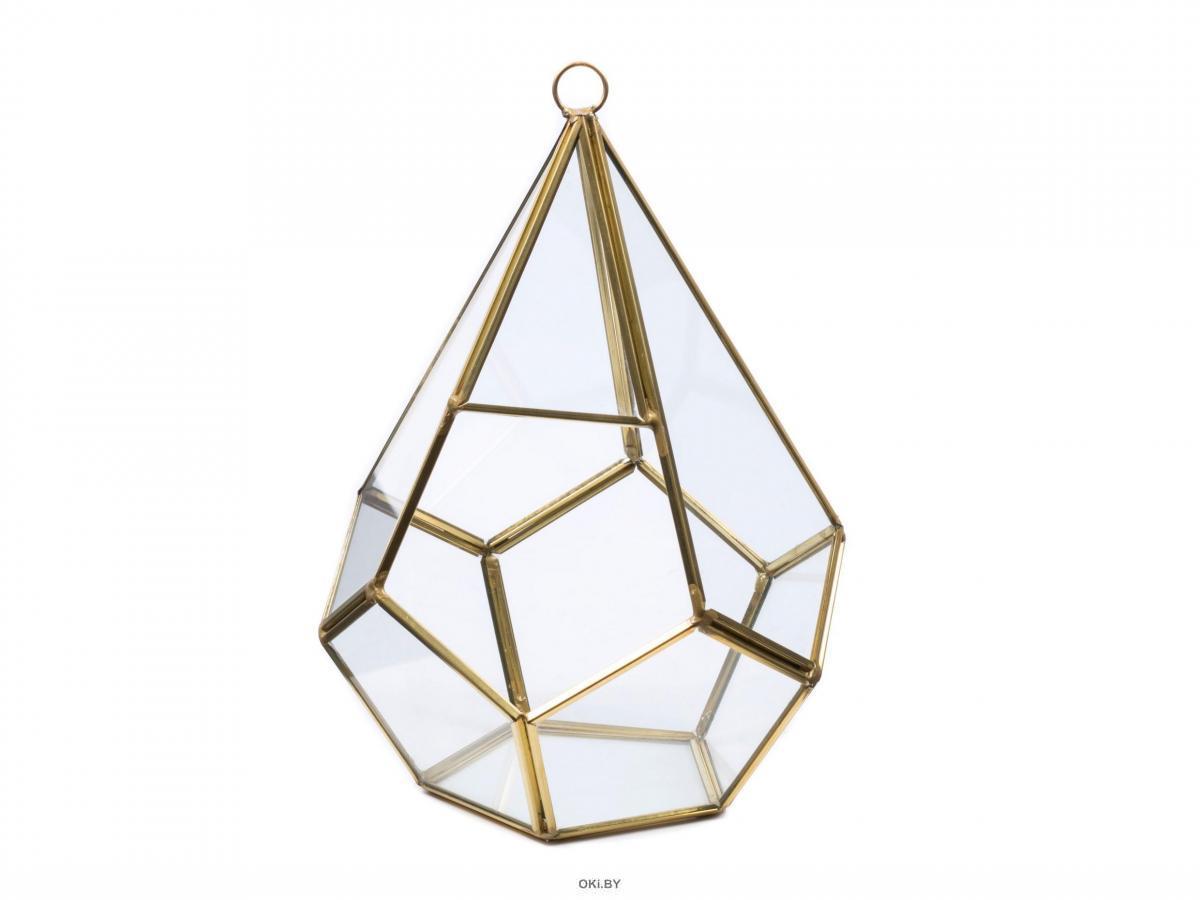 ФЛОРАРИУМ стеклянный 18х12 см (арт. 25096744, код 292939)