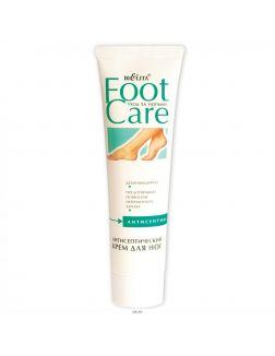 Крем антисептический  для ног, 100 мл (туба, Foot Care)