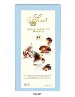 Шоколадные конфеты с начинкой пралине «AMERI», 125 г