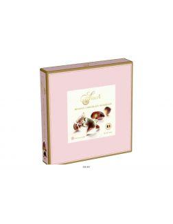 Шоколадные конфеты с начинкой пралине «AMERI», 250 г (розовая упаковка)