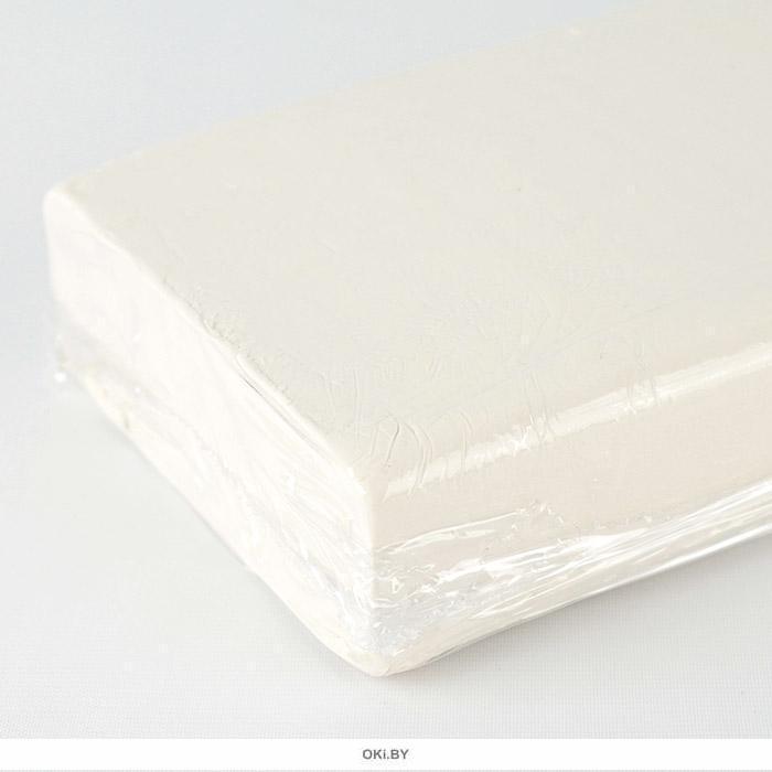 Пластилин скульптурный  500 грамм белого  цвета мягкий