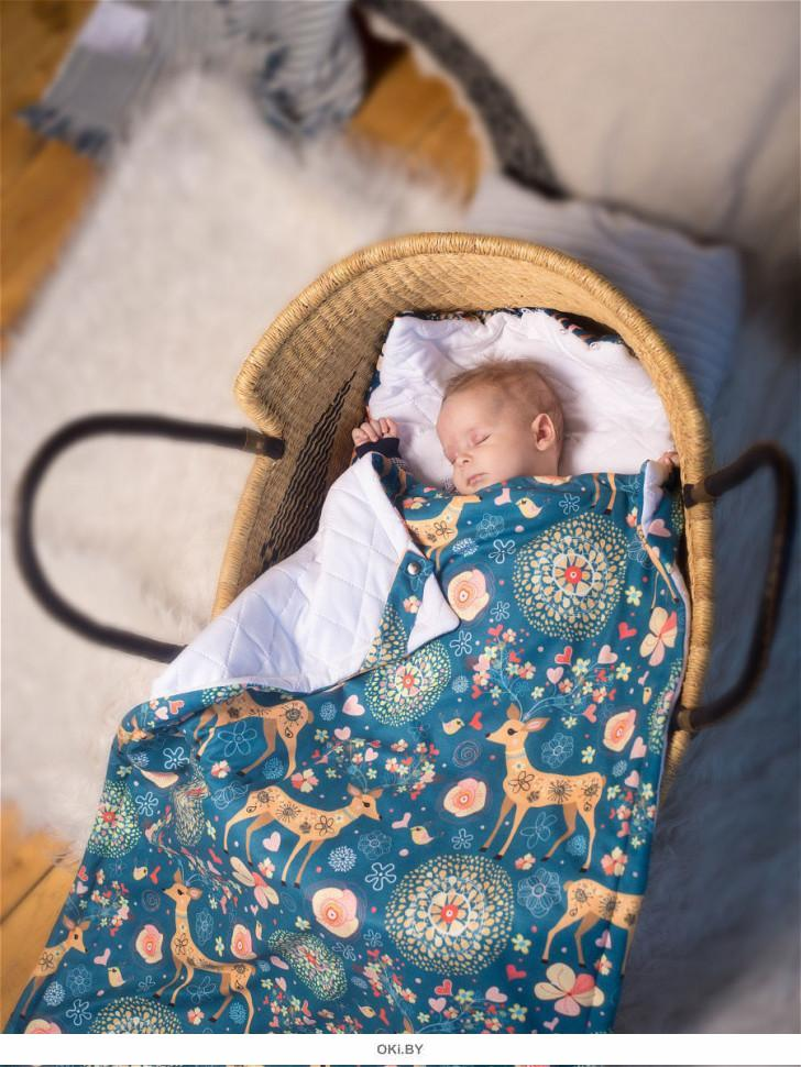 Детский плед «Сновидения Бемби», 105х70 см