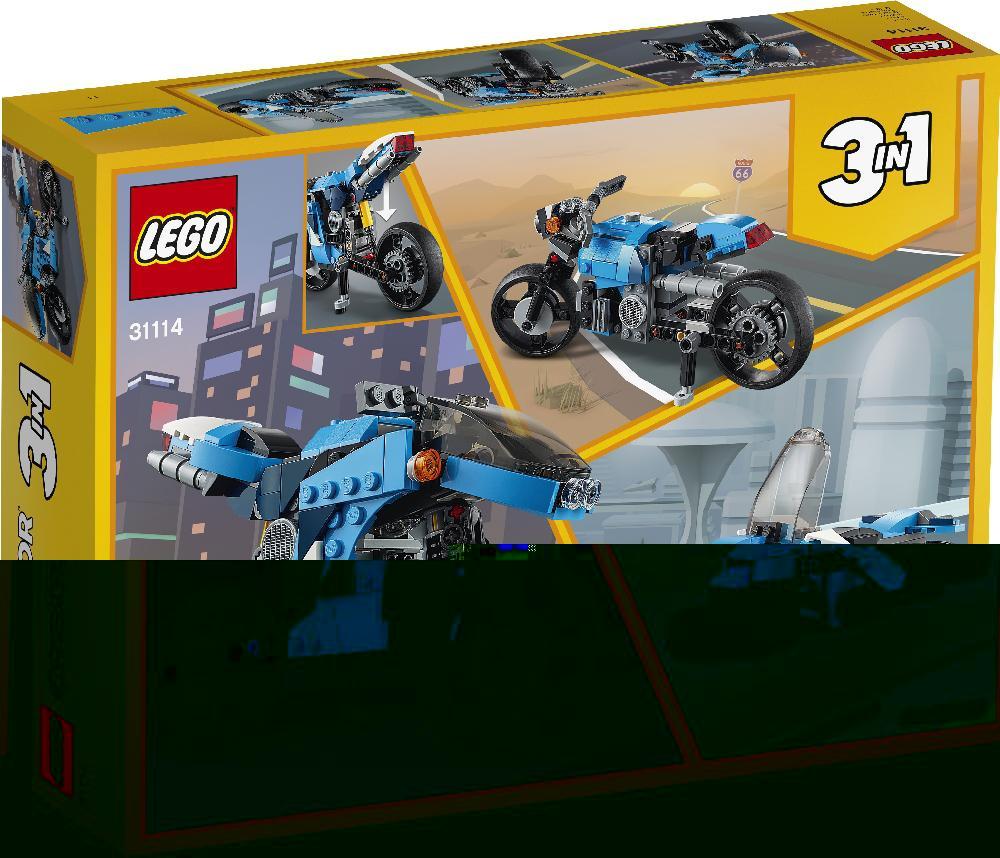 Супербайк (Лего / Lego creator)