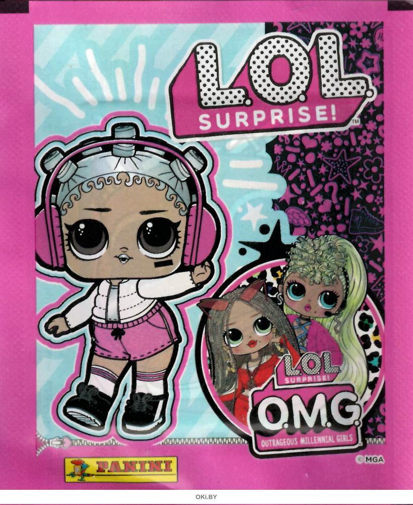 Наклейки Panini LOL Surprise № 4 / 2021 (3+)