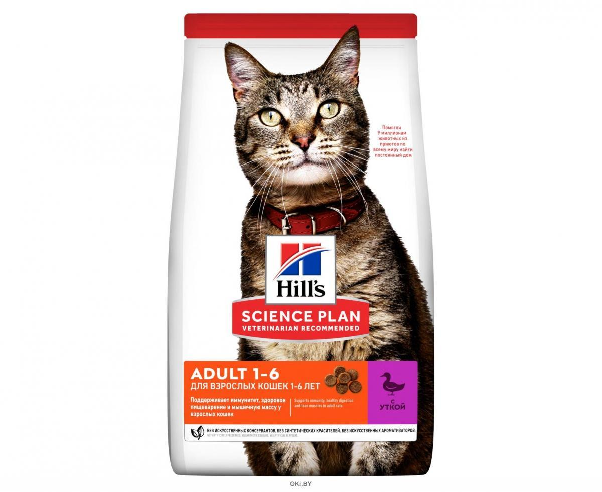 604637 SP Корм д/взрослых кошек утка 1,5кг