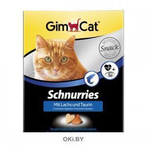 Витаминные«сердечки» для кошек с таурином и лососем 420 г
