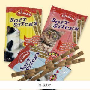 Палочки для кошек Санал лосось и форель 15 г, 3шт. (SC3830)