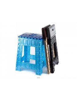 ТАБУРЕТ пластмассовый складной 30х25х46 см (арт. 06007, код 681158)