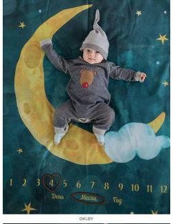 Фотоплед для фотосессии «До Луны и обратно», 88х130 см