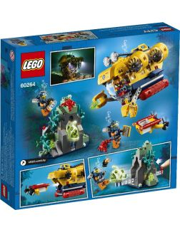 Игровой набор Океан: исследовательская подводная лодка (Лего / Lego city)