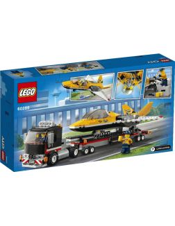 Транспортировка самолёта на авиашоу (Лего / Lego city)