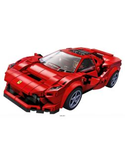Спорткар Ferrari F8 Tributo (Лего / Lego speed champions)