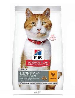 604723 SP Корм для стерилизованных кошек с курицей, 300 г