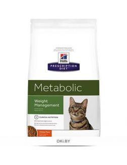 Корм для кошек Hill's Prescription Diet Метаболик Контроль веса 4 кг