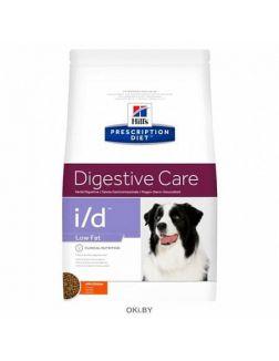 Сухой корм для взрослых собак Hill's Prescription Diet Low Fat для взрослых собак при расстройствах ЖКТ, 1,5 кг