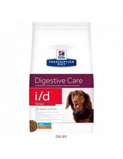 Корм для собак мелких пород при расстройствах ЖКТ Prescription Diet i/d Stress Mini Digestive Care, 1,5кг