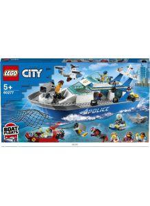 Катер полицейского патруля (Лего / Lego  city)