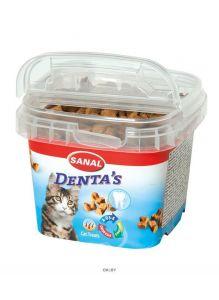 SC1573 Лакомство для кошек SANAL Denta's Для зубов 75 г