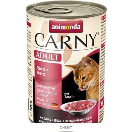 Корм для кошек Карни говядина, сердце 200 г (83704)
