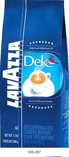 Кофе «Lavazza» DEK (без кофеина) в зернах, 500 г, артикул 1057