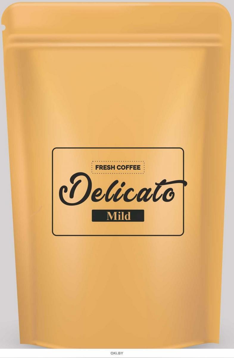 Кофе натуральный жареный в зернах «Delicato Mild», 1000 г