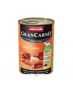 Влажный корм Гран Карно для щенков с курией и говядиной 400г