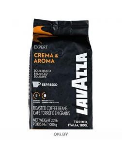 Кофе «Lavazza» Espresso Crema and Aroma в зернах 1000 г, артикул 2964