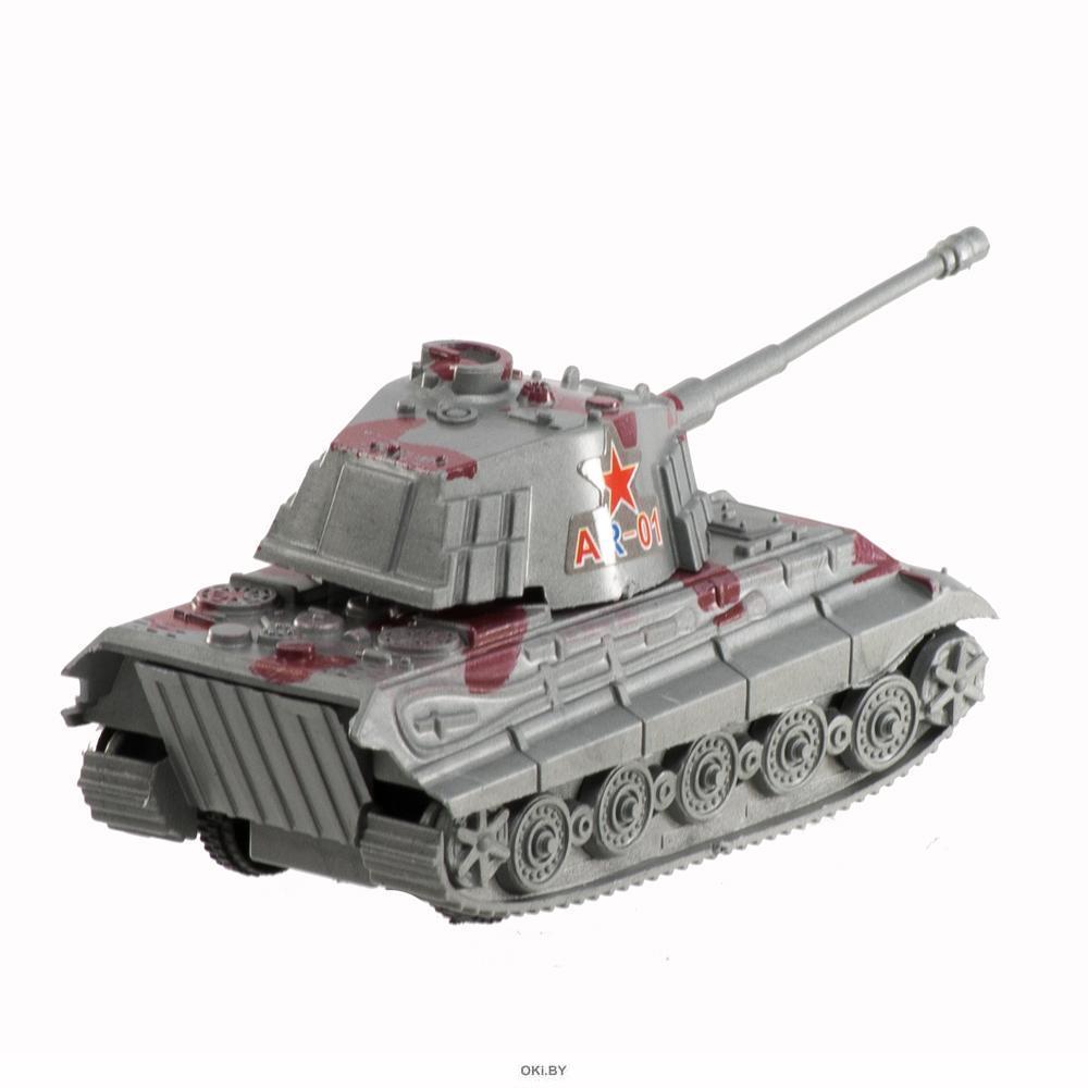 Военная техника инерционная 8х4х4 см
