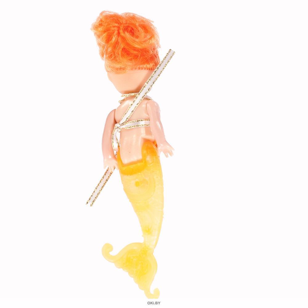 Кукла-русалка мини с цветными волосами в ассортименте (арт. 47217)