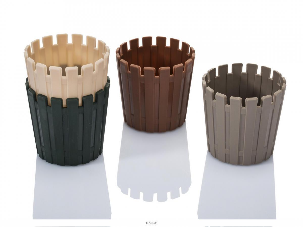 КАШПО пластмассовое «Akasya Cactus» 9,5х9,5 см (арт. AKPM85, код 499549)