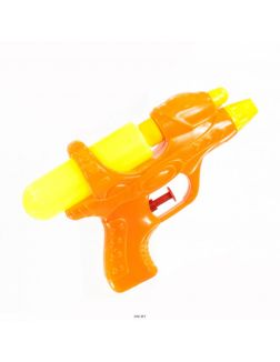 Водный пистолет цветной малый с 1 баллоном (арт. 44239)