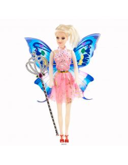 Куколка с крыльями и волшебнойпалочкой 29х18х4 см