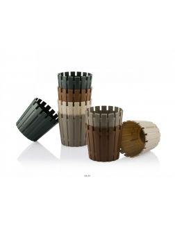 КАШПО пластмассовое «Akasya» 16,5х15 см (арт. A17MIX-P, код 492632)