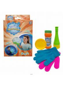 Мыльные пузыри «Пенные Прыгунцы 2-в-1» (Т10345)