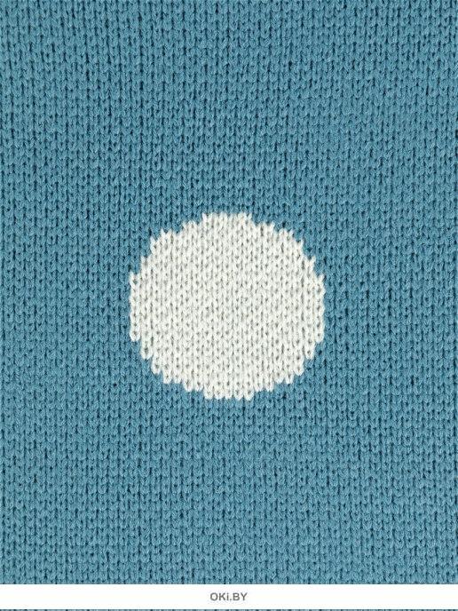 Плед вязаный «Juno» 90х90 рис. 0015 Машинка
