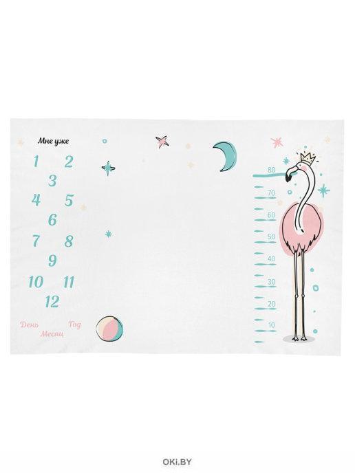 Фотоплед для фотосессии «Фламинго», 96х144 см