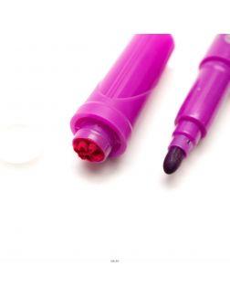 Фломастеры со штампом «Magic» 18 цветов смываемые Yalong