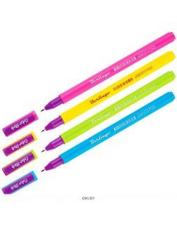 Ручка гелевая Berlingo «Color Stick» черная