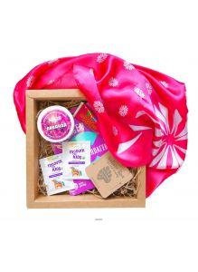 Набор косметики NATURE BOX Relax&SPA (Маска для лица, бальзам для рук, таблетка для ванн)