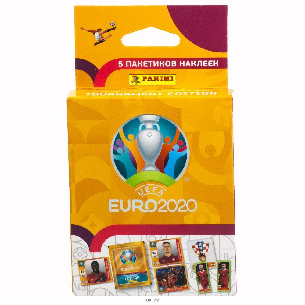 Блистер Panini EURO 2020 (6+)