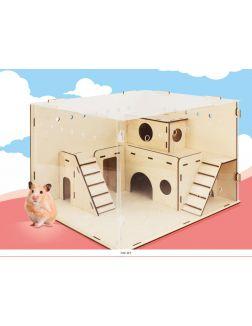 Дом для хомячка тип 2