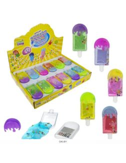 Слайм Тайм надувная мяшка Bubble Gum 6 цветов (арт Т17803)