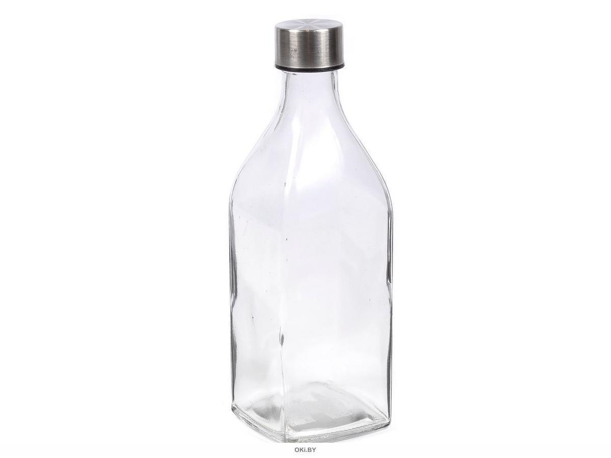 БУТЫЛКА стеклянная для питья 1,1 л с крышкой (арт. OV-NRL, код 215867)