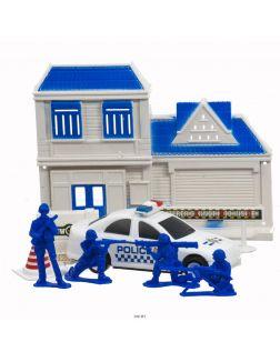 Набор полиции с машинкой и фигурками в ассортименте (арт 47024)