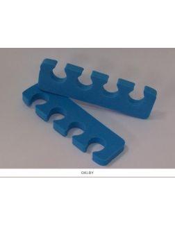 Разделители для пальцев ног синие 95 мм