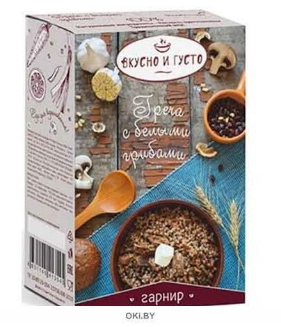 Каша гречневая с белыми грибами 222 гр