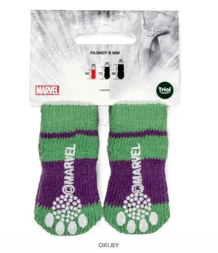 Носки Marvel Халк размер L 90х35 мм Triol-Disney
