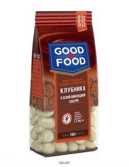 Клубника в белой шоколадной глазури 150 гр