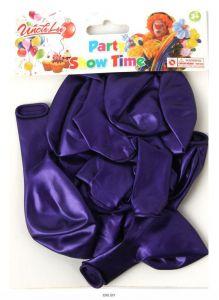 Набор воздушных шариков фиолетового цвета 12 штук